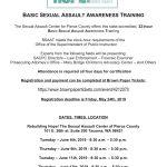 June 2019 Basic Sexual Assault Awareness Training