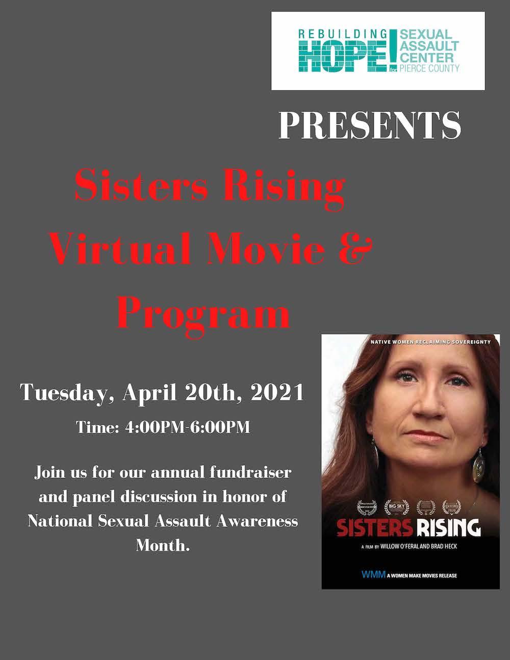 Sisters Rising Virtual Movie & Program