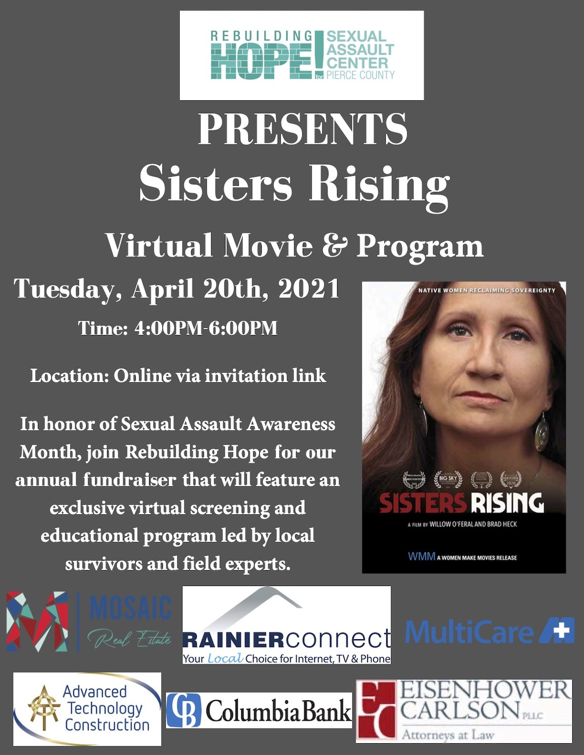 Sisters Rising Virtual Movie & Program